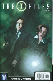 X-Files #1 Retail Variant (2008) DC comic book